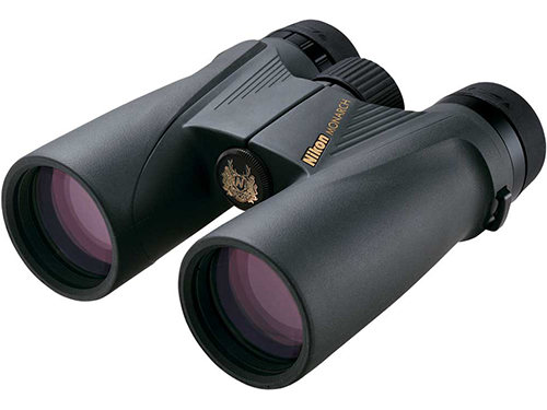 Folding pocket binocular